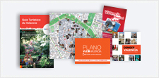 Valencia Tourist Pack: Tourist Guide and a City Map